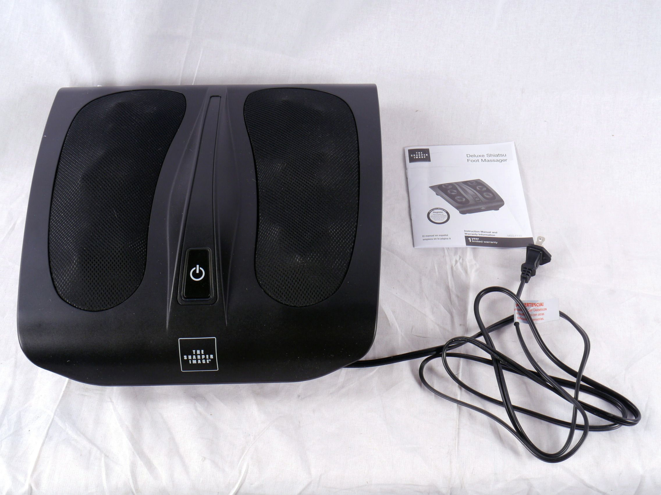 The Sharper Image Deep Kneading Shiatsu Foot Massager