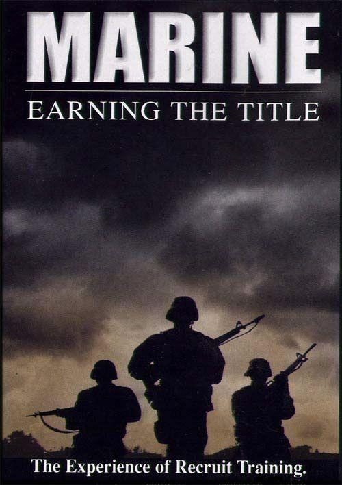 USMC Marine Corps DVD Earning Title of Boot Camp Honor Courage