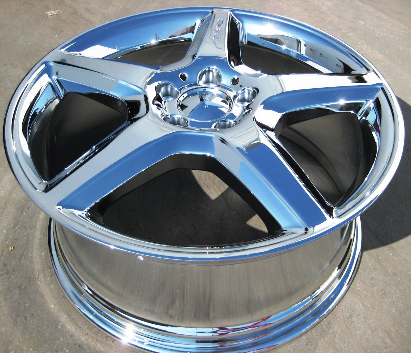 19 New Factory Mercedes R500 ML550 ML55 AMG Chrome Wheels Rims