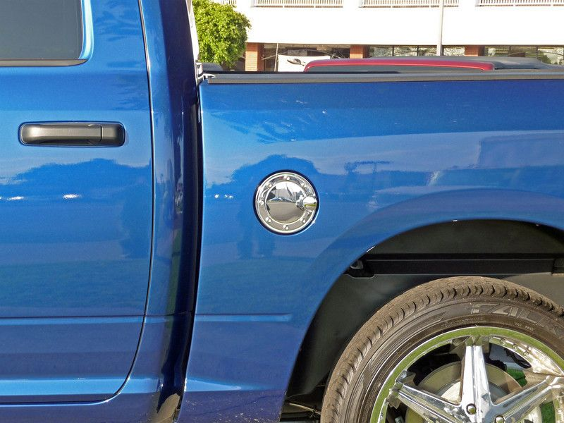 2009 2011 Dodge RAM Chrome Stainless Gas Door Cover
