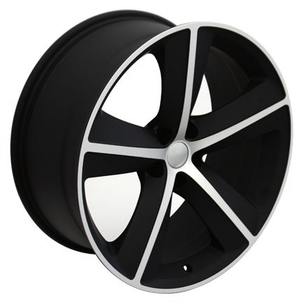 20 Matte Black Challenger SRT Wheels 20 x 9 Rim Fits Dodge